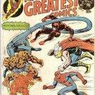 Marvel's Greatest Comics (1969 series) #55 Fantastic Four Marvel Comics March 1975 FR