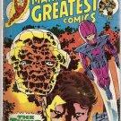 Marvel's Greatest Comics (1969 series) #60 Fantastic Four Marvel Comics Nov 1975 GD