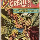 Marvel's Greatest Comics (1969 series) #61 Fantastic Four Marvel Comics Jan 1976 FR