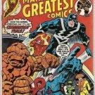 Marvel's Greatest Comics (1969 series) #64 Fantastic Four Marvel Comics July 1976 GD