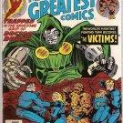 Marvel's Greatest Comics (1969 series) #68 Fantastic Four Marvel Comics Jan 1977 VG