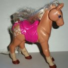 Fisher-Price Loving Family Starlight Plastic Toy Horse from #75347 Playset Loose Used