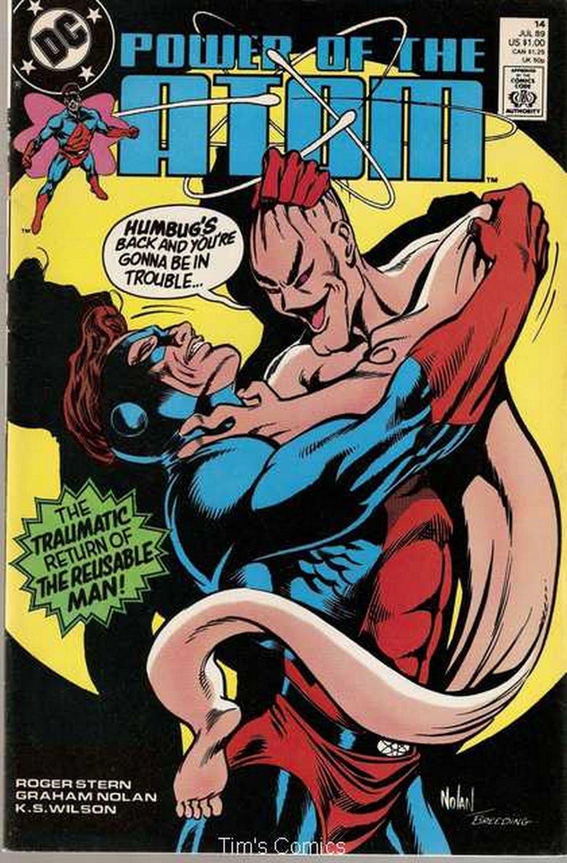 Power of the Atom (1988 series) #14 DC Comics June 1989 FN