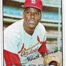 1967 Topps Baseball Card #210 Bob Gibson St. Louis Cardinals VG/EX