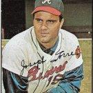 1967 Topps Baseball Card #350 Joe Torre Atlanta Braves EX