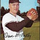 1967 Topps Baseball Card #382 Dave McNally Baltimore Orioles EX