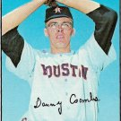 1967 Topps Baseball Card #464 Dan Coombs Houston Astros Good