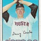 1967 Topps Baseball Card #464 Dan Coombs Houston Astros Fair