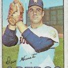 1967 Topps Baseball Card #318 Dave Giusti Houston Astros Good
