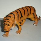 "7"" Long 2.5"" Tall Plastic Tiger Toy Animal Figure Loose Used"