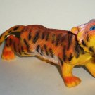 "6"" Long Soft Vinyl Tiger Toy Animal Figure Loose Used"