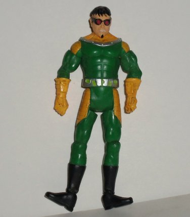 Spider-Man Doctor Octopus Action Figure No Tentacles Hasbro 2009 Marvel Comics Loose Used