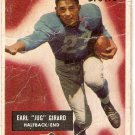 """1955 Bowman Football Card #15 Earl """"Jug"""" Girard Fair Detroit Lions FR"""