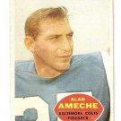 1960 Topps Football Card #2 Alan Ameche  Baltimore Colts GD