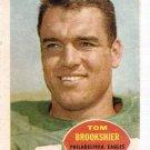 1960 Topps Football Card #89 Tom Brookshier RC Philadelphia Eagles GD