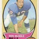1970 Topps Football Card #63 Ron McDole Buffalo Bills GD