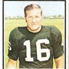 1973 Topps Football Card #25 George Blanda Oakland Raiders EX