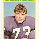 1972 Topps Football Card #104 Ron Yary RC Minnesota Vikings VG
