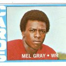 1972 Topps Football Card #112 Mel Gray RC St. Louis Cardinals VG