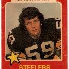 1975 Wonder Bread Football Card #5 Jack Ham Pittsburgh Steelers GD