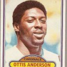 1980 Topps Football Card #170 Ottis Anderson RC St. Louis Cardinals EX