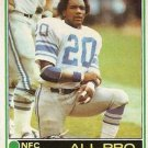 1981 Topps Football Card #100 Billy Sims RC Detroit Lions EX-MT