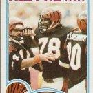 1982 Topps Football Card #51 Anthony Munoz RC Cincinnati Bengals NM