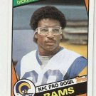 1984 Topps Football Card #280 Erik Dickerson RC Los Angeles Rams NM