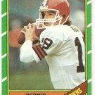 1986 Topps Football Card #187 Bernie Kosar RC Cleveland Browns NM
