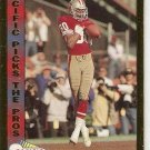 1991 Pacific Picks The Pros Gold Football Card #3 Jerry Rice San Francisco 49ers NM
