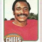 1976 Topps Football Card #24 Willie Lanier Kansas City Chiefs VG
