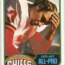 1976 Topps Football Card #160 Jan Stenerud Kansas City Chiefs EX-MT