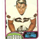 1976 Topps Football Card #210 Jim Langer Miami Dolphins EX