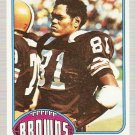 1976 Topps Football Card #256 Oscar Roan RC Cleveland Browns EX-MT