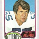 1976 Topps Football Card #490 Lee Roy Jordan Dallas Cowboys EX-MT
