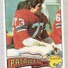1975 Topps Football Card #318 John Hannah New England Patriots GD