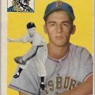 1954 Topps Baseball Card #43 Dick Groat Pittsburgh Pirates FR
