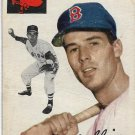 1954 Topps Baseball Card #82 Milt Bolling Boston Red Sox GD