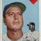 1954 Topps Baseball Card #86 Billy Herman Brooklyn Dodgers PR