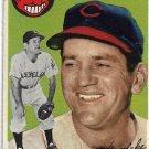 1954 Topps Baseball Card #92 Wally Westlake Cleveland Indians GD
