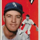 1954 Topps Baseball Card #100 Bob Keegan Chicago White Sox GD
