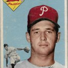 1954 Topps Baseball Card #108 Thornton Kipper RC Philadelphia Phillies FR