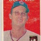 1958 Topps Baseball Card #66 Lee Walls Chicago Cubs FR