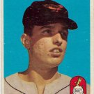 1958 Topps Baseball Card #457 Milt Pappas RC Baltimore Orioles GD