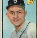 1961 Topps Baseball Card #459 Terry Fox RC Detroit Tigers GD