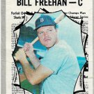 1970 Topps Baseball Card #465 Bill Freehan All-Star Detroit Tigers GD