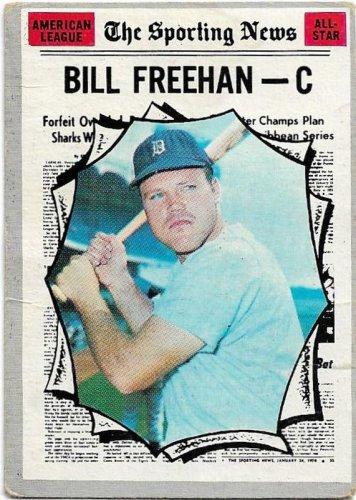 1970 Topps Baseball Card #465 Bill Freehan All-Star Detroit Tigers GD