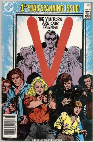 V (1985 series) #1 DC Comics TV Show Feb. 1985 VG
