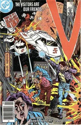 V (1985 series) #3 DC Comics TV Show April 1985 GD/VG