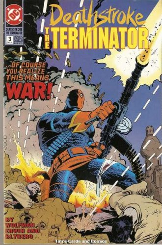Deathstroke the Terminator (1991 series) #3 DC Comics Oct 1991 FN